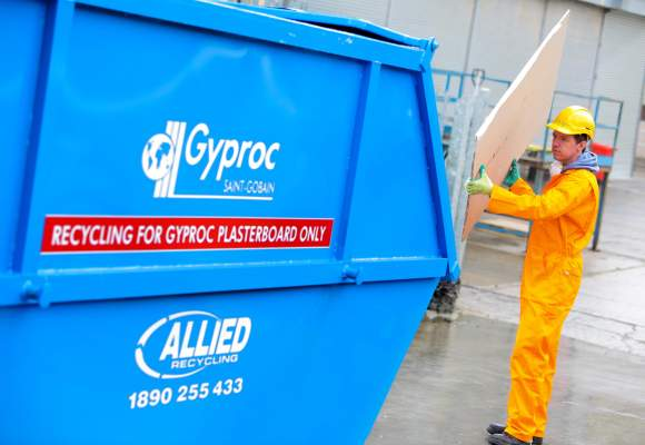 Gyproc Plasterboard Recycling Service